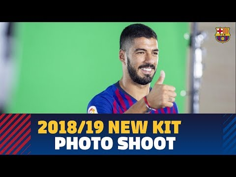Barça's 2018/19 New Kit Photo Shoot