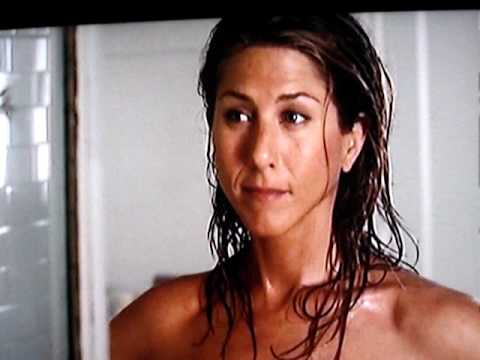 Jennifer Aniston Getting out of the Shower