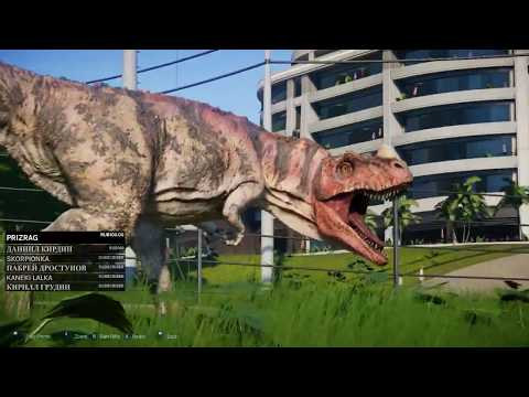LetsPlayPoRusski играет Jurassic World Evolution