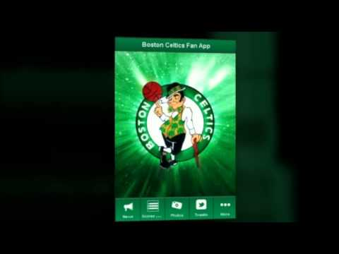 Video of Boston Celtics Fan App