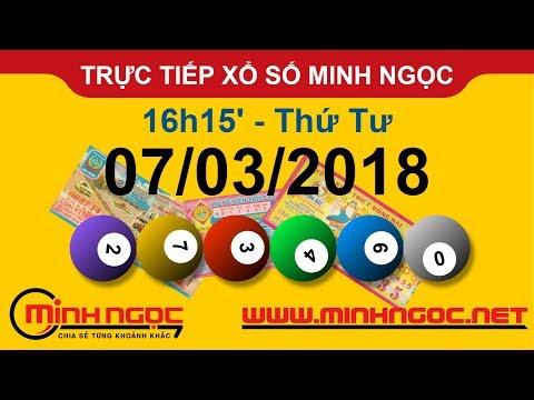 Trực tiếp xổ số MINH NGỌC T4 Ngày 07-03-2018 - Kênh Youtube chính thức từ Minhngoc.net.vn