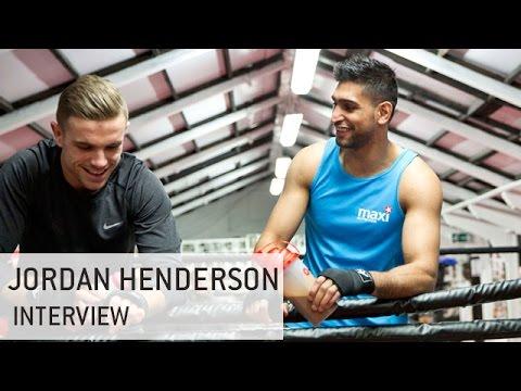 When Liverpool's Jordan Henderson Met Amir Khan