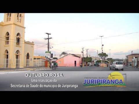 """Culminância da campanha """"Outubro Rosa"""" em Juripiranga."""
