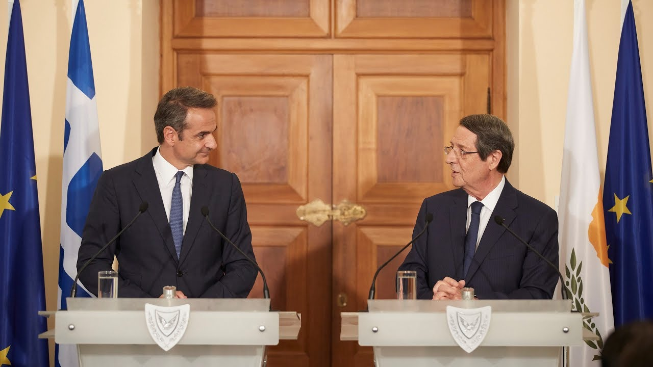 Δήλωση του Πρωθυπουργού Κυριάκου Μητσοτάκη στην Κύπρο