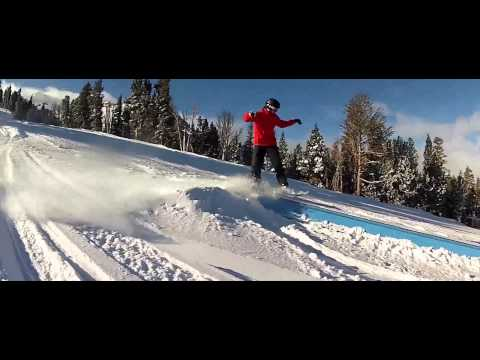 Snowboard em Mammoth Lakes, California - 2014 HD