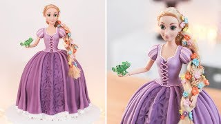RAPUNZEL Doll Cake - TANGLED - Tan Dulce