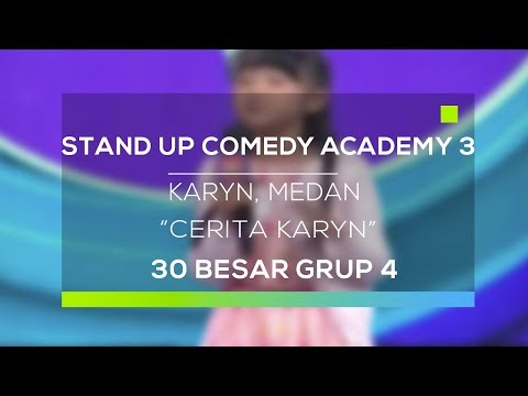Download Video Stand Up Comedy Academy 3 : Karyn, Medan - Cerita Karyn