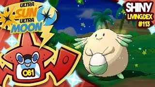 ROTTEN EGGS! SHINY CHANSEY! Quest for Shiny Living Dex #113 USUM Shiny 81 by aDrive
