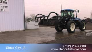 6. New Holland TV6070, 1221 Hrs, Front/Rear Remotes, 3 Pt, Loader For Sale