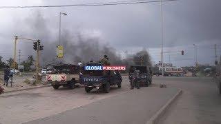 Polisi Wapambana na Wananchi Bomoa-Bomoa Jangwani, Dar