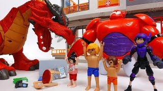 Video Defeat The Evil Dragon~! Go Big Hero 6 Go Baymax MP3, 3GP, MP4, WEBM, AVI, FLV Juli 2018