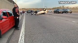 Video Unbelievable Car Crash Compilation - Horrible Driving Fails Of 2019 (Part 16) MP3, 3GP, MP4, WEBM, AVI, FLV Mei 2019