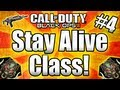 "★Black Ops 2 ""BEST STAY ALIVE CLASS"" - Full Setup! (Call of Duty Black Ops 2 Multiplayer Gameplay)"