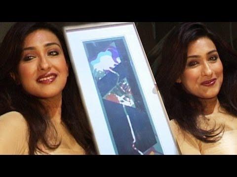 Rituparna Sen Gupta Looking Gorgeous At Art Exhibi