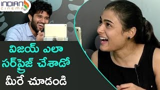 Video Vijay Devarakonda Surprises Shalini | Arjun Reddy Latest Telugu Movie | Interview | Indian Cinema MP3, 3GP, MP4, WEBM, AVI, FLV Maret 2018