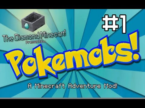 Minecraft: Pokemobs Adventure Mod #1 'The Journey Begins..'