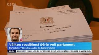 Válkou rozdělená Sýrie volí parlament