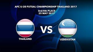 Video Trực tiếp 3rd-4th Futsal Asian 2017: U20 ThaiLand vs U20 Uzbekistan MP3, 3GP, MP4, WEBM, AVI, FLV September 2017