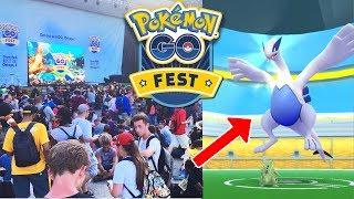 Avoir Lugia dans Pokémon GO le Pokémon légendaire du Pokemon GO FEST ! Debriefing Pokémon GO FEST chicago 2017 !