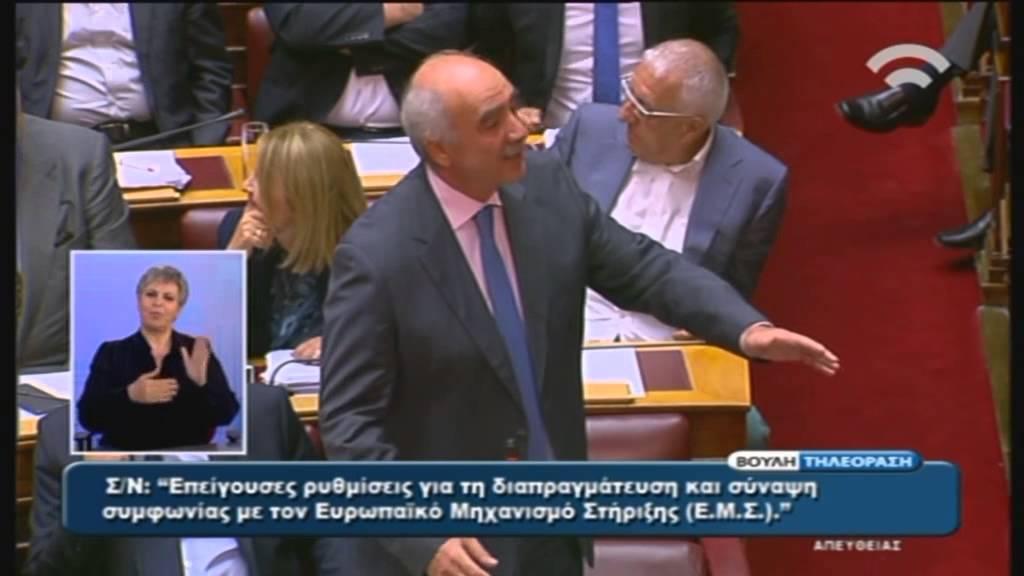 Δευτ/ια Ε. Μεϊμαράκη (Πρ. ΝΔ): Σ/Ν για τη Διαπραγμάτευση καιτη Σύναψη Συμφωνίας με Ε.Μ.Σ (15/7/15)