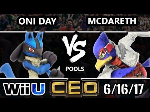 CEO 2017 Smash 4 - Oni Day (Lucario) vs McDareth (Falco) Wii U Tournament