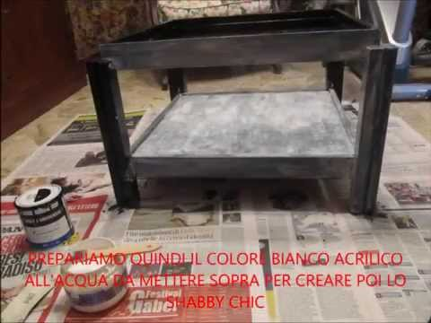shabby chic - rifacimento di un tavolino