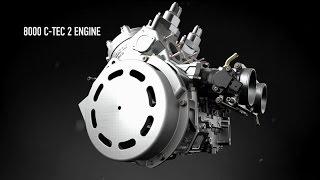 5. Arctic Cat 8000 C-Tec2 Engine