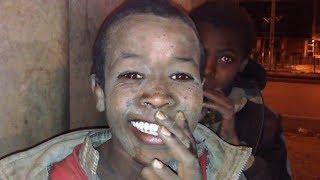በጣም የሚያሳዝኑ ወገኖቻችን የጎዳና ኑሮ street kids Addis Ababa