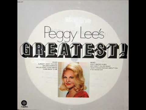 Hallelujah I Love Him So (Song) by Peggy Lee