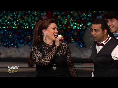 """إلهام شاهين تغني للمرأة بعد الأربعين مع """"أبله فاهيتا"""""""