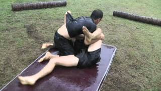 Mat Grappling   King Of The Mat   NinjaGym Multi Martial Arts Camp Thailand 2011 8