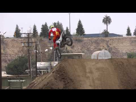 hampshire - Newly mounted Factory Connection Amsoil Honda rider RJ Hampshire has been in Southern California putting in the hours in hopes of coming out of this years Th...