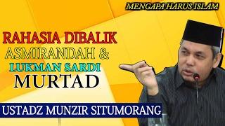 Video Mengapa Asmirandah Dan Lukman Sardi Murtad || Utadz Munzir Situmorang MP3, 3GP, MP4, WEBM, AVI, FLV November 2018