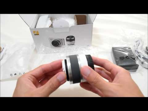 Nikon J1 with 10-30mm & 30-110mm Kit Unboxing