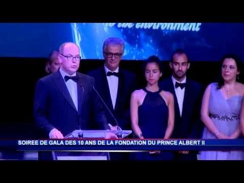 La Fondation Prince Albert II fête ses 10 ans dans la salle des Étoiles