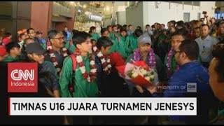 Video Selamat Datang Generasi Pemenang! Timnas U16 Tiba di Indonesia ; Timnas U16 Juara Turnamen Jenesys MP3, 3GP, MP4, WEBM, AVI, FLV April 2018