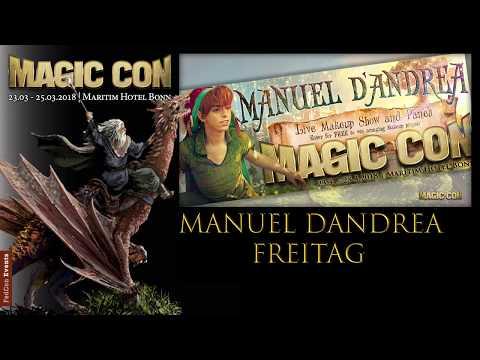 Manuel D Andrea Freitag Kleiner Saal MagicCon