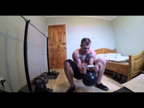 300 Maxwell's Kettlebell Challenge – little home workout ;)