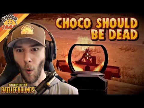 chocoTaco Should Definitely Be Dead - PUBG Solos Gameplay