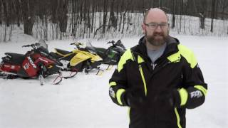 7. 2-Stroke Engine Battle: Arctic Cat VS Ski-Doo VS Polaris