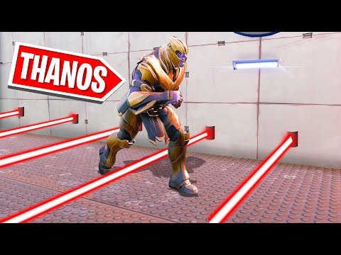 Playing A DEATHRUN As THANOS! (Fortnite Avengers)