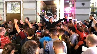 Video England Fans Take Over The Streets Of Moscow Ahead Of World Cup Semi-Final - Russia 2018 World Cup MP3, 3GP, MP4, WEBM, AVI, FLV Maret 2019