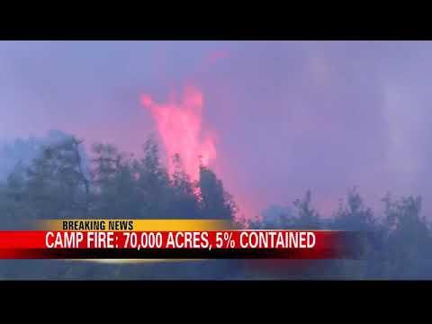 Camp Fire Update: Nov. 9, 2 p.m.