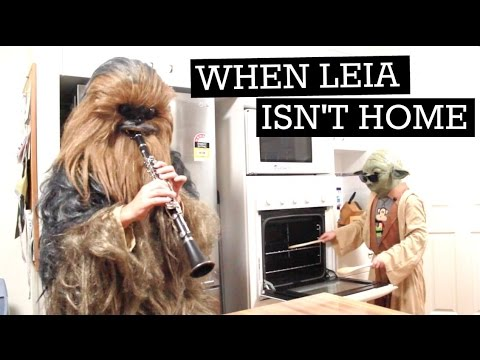 When Leia Isn't Home