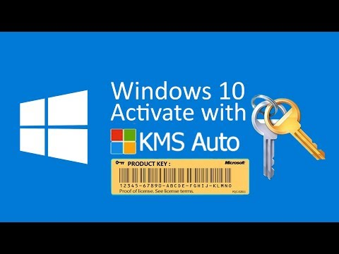 Windows 10 activate with KMS auto [tutorial 2019]