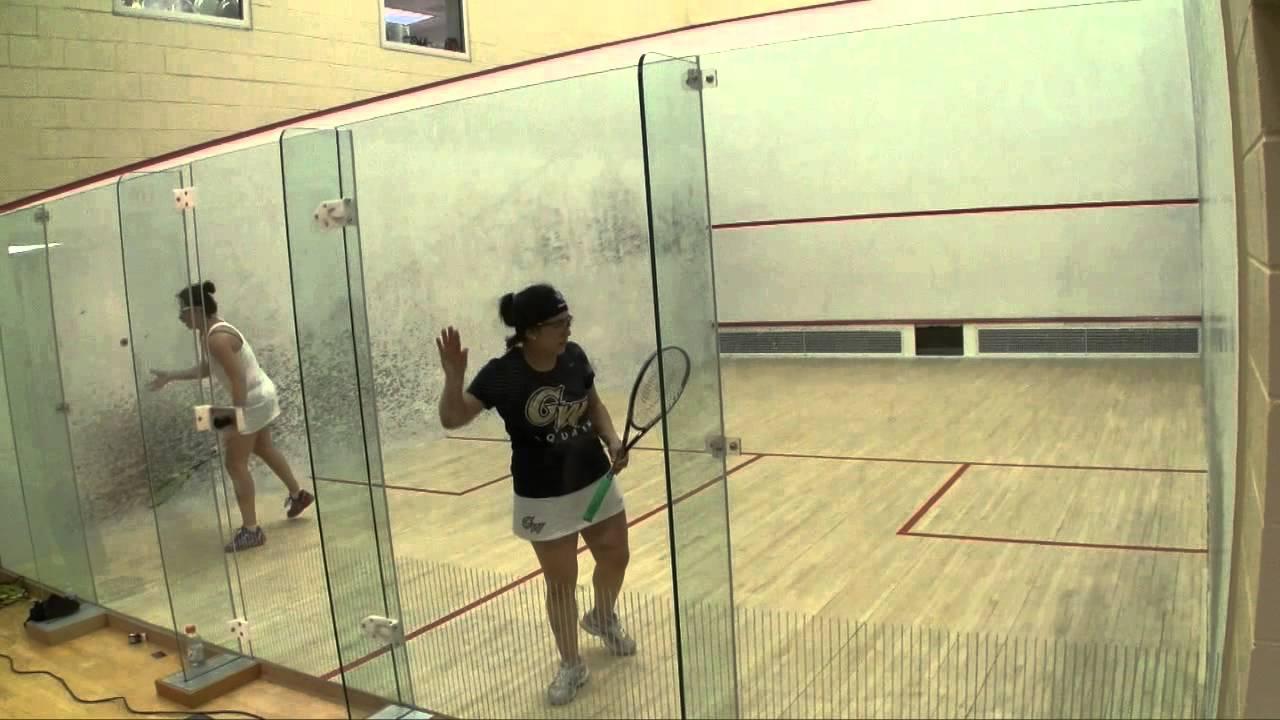 Women's College Squash – 2014 National Team Championships: George Washington and Columbia #1s