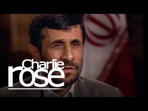 Mahmoud Ahadinejad Talks with Charlie Rose