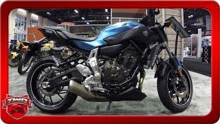 10. 2017 Yamaha FZ 07 Motorcycle Walkaround AIMExpo 2016
