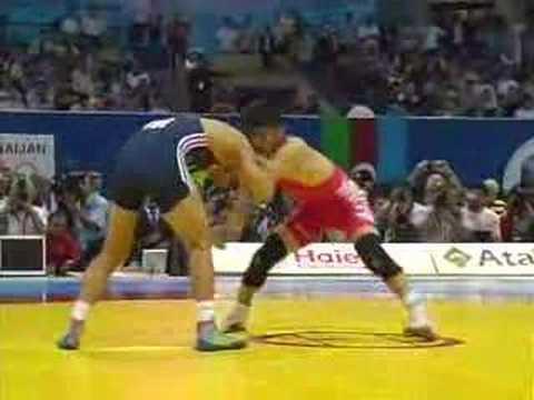 Besik Kudokhov (RUS) vs Bayaraa Naranbaatar (Mongolia)