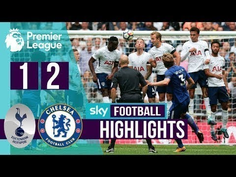 Tottenham vs Chelsea 1-2 All Goals & Highlights - EPL 21/08/2017 HD